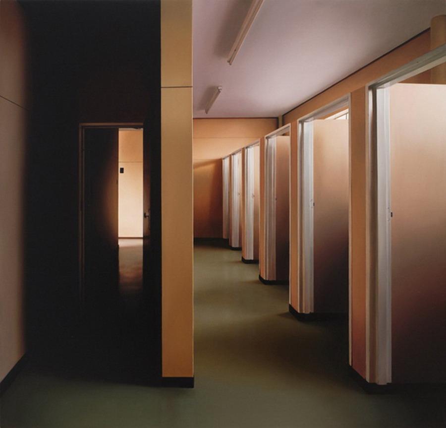 Im genes arte pinturas vistas de espacios interiores en for Cuadros de interiores