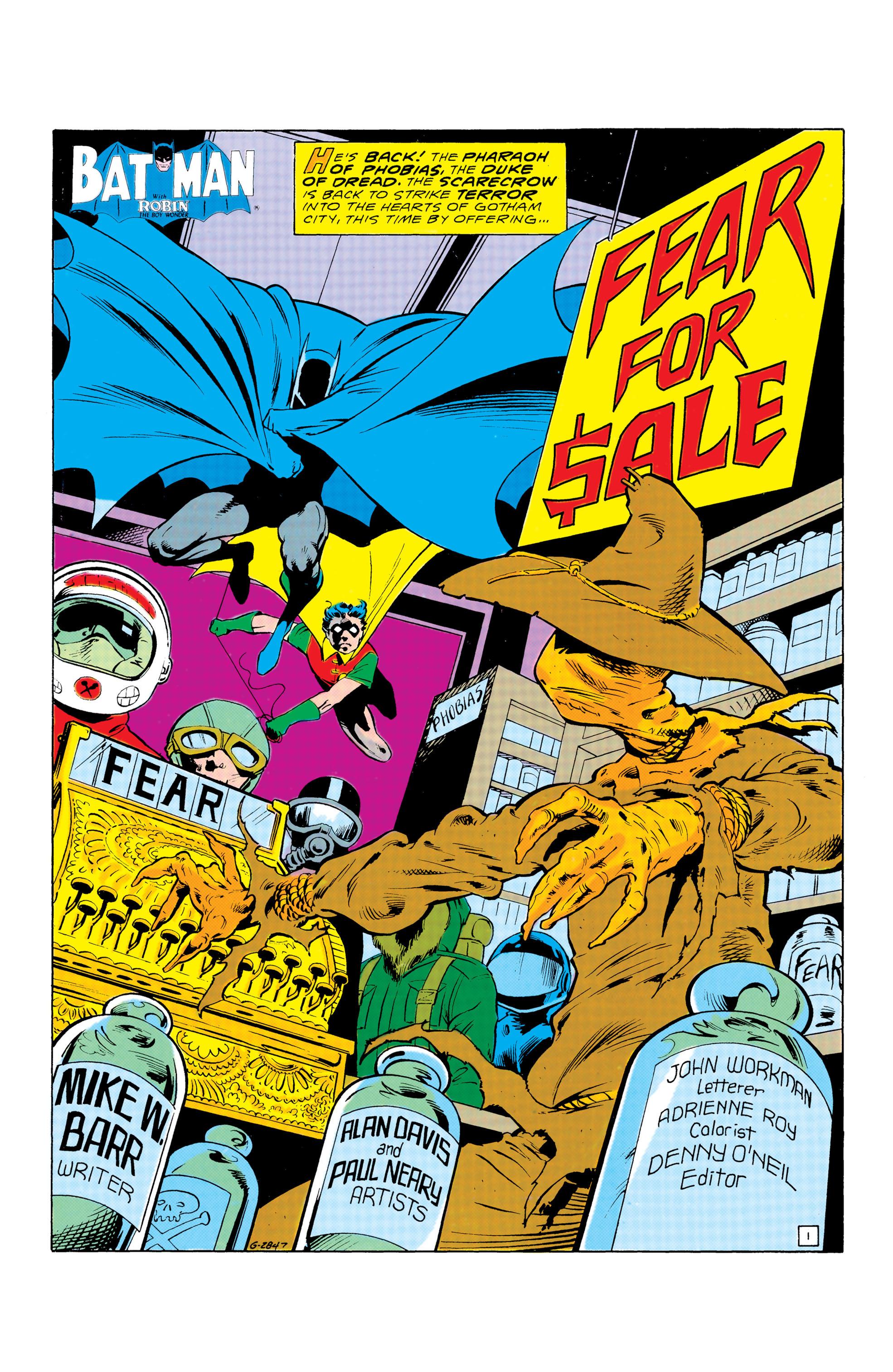 Detective Comics (1937) 571 Page 1