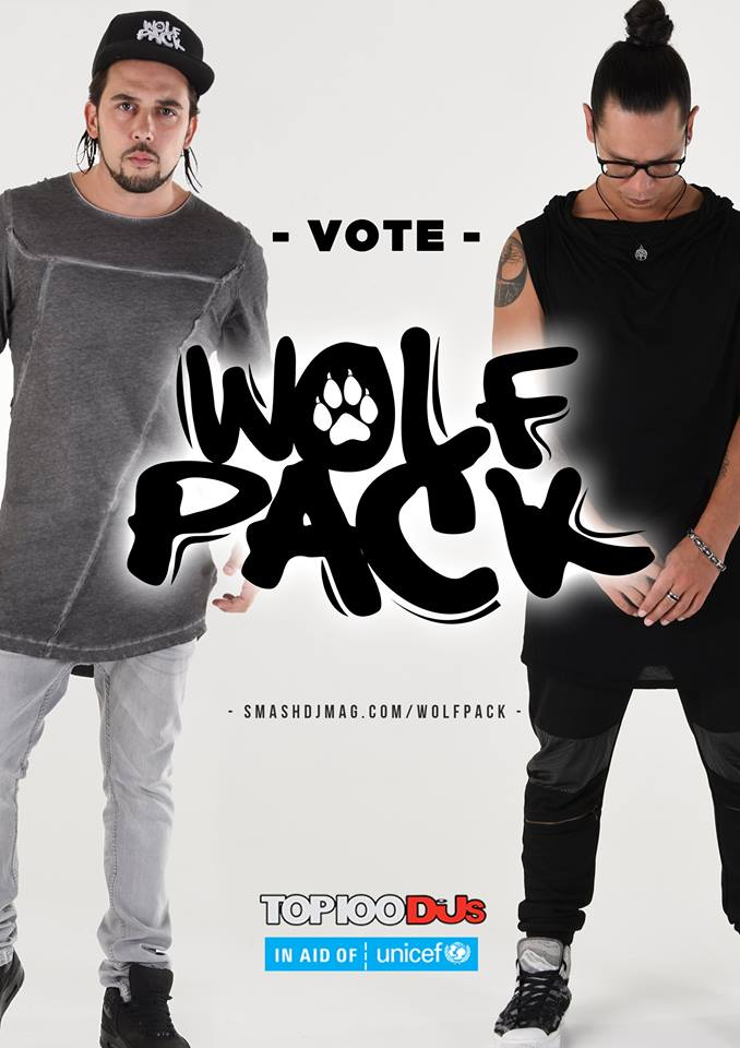 WOLFPACK FOR DJ MAG TOP 100 DJS