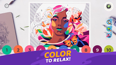 Gallery: Coloring Book & Decor (MOD, Unlimited Coins/Boosters) APK Download