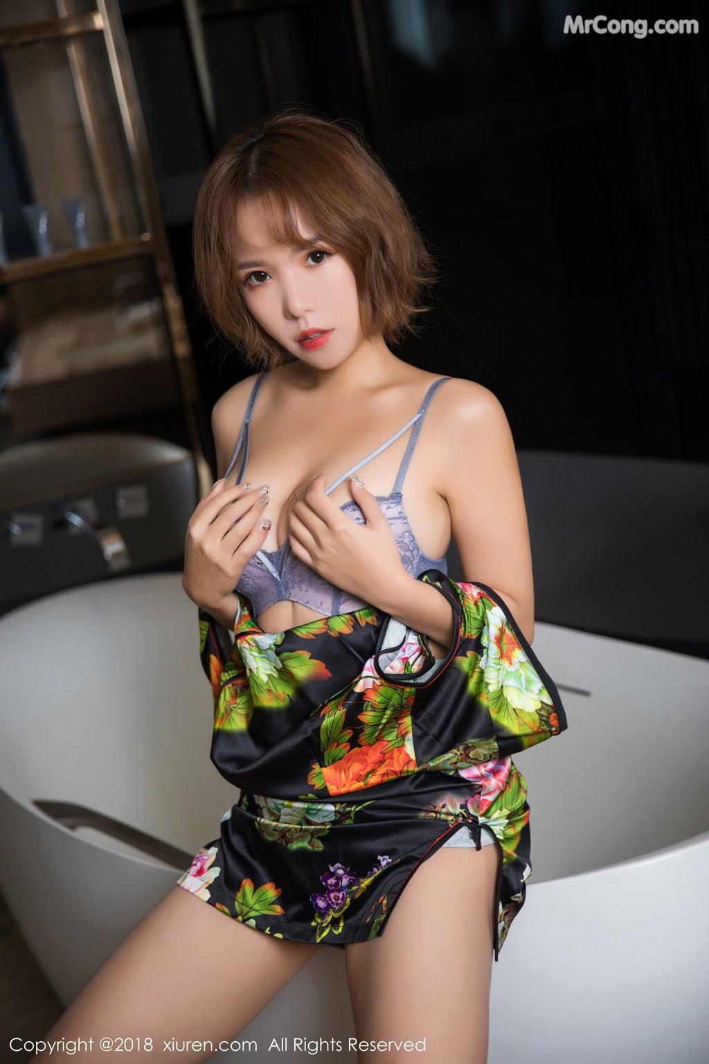 Image XIUREN-No.1264-Ya-Wen-MrCong.com-025 in post XIUREN No.1264: Người mẫu Ya Wen (雅雯) (61 ảnh)