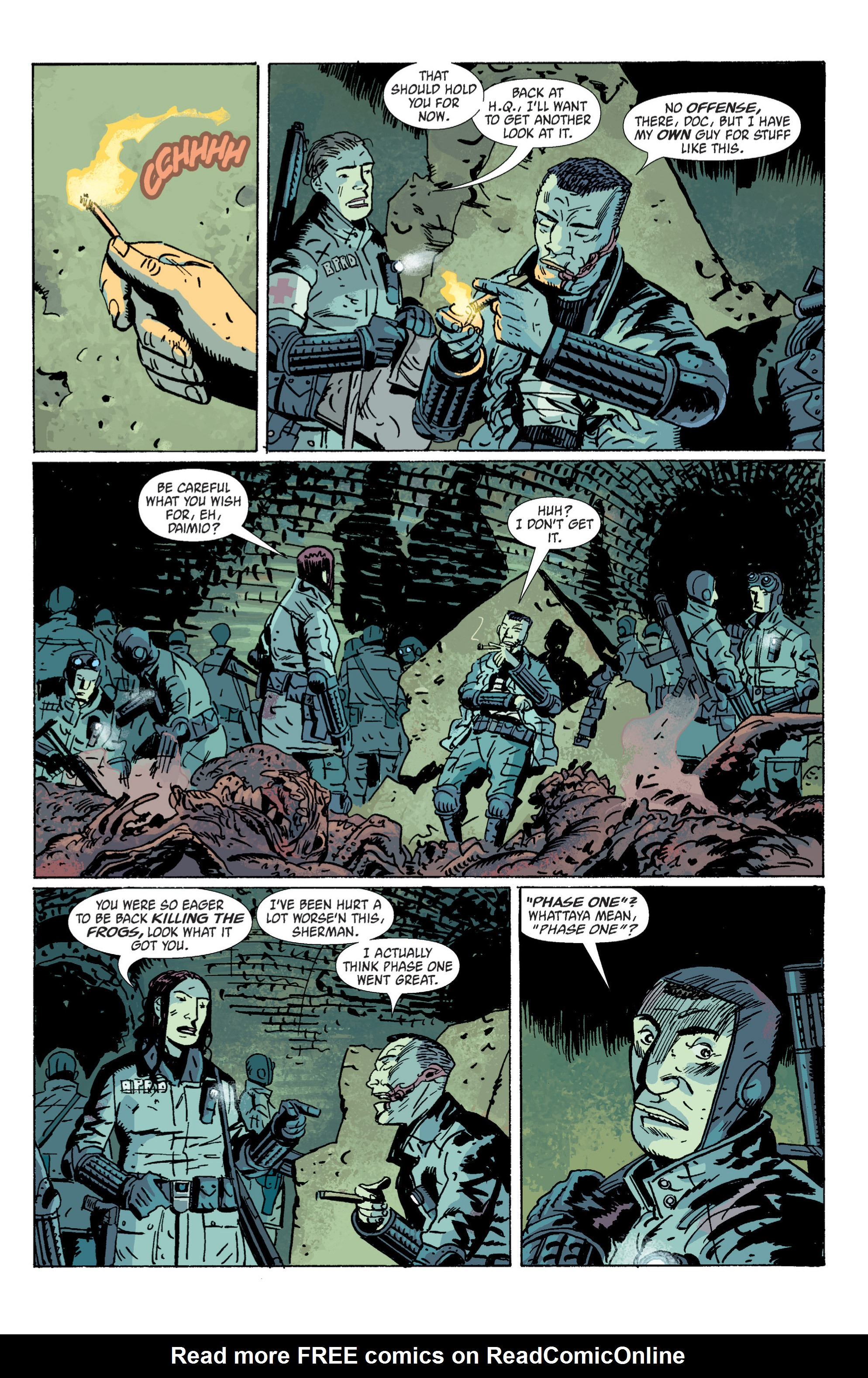 Read online B.P.R.D. (2003) comic -  Issue # TPB 5 - 13