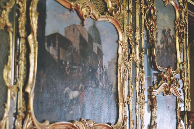 Leopoldskron Venetian Room Sound of Music ballroom