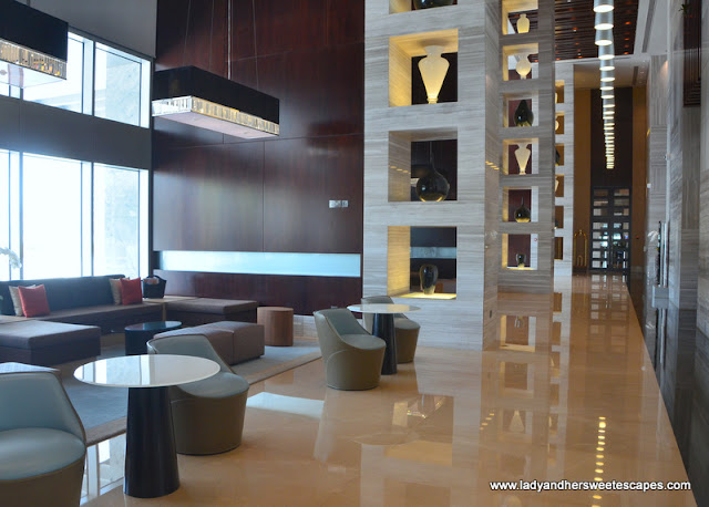 Capital Centre Arjaan hotel lobby