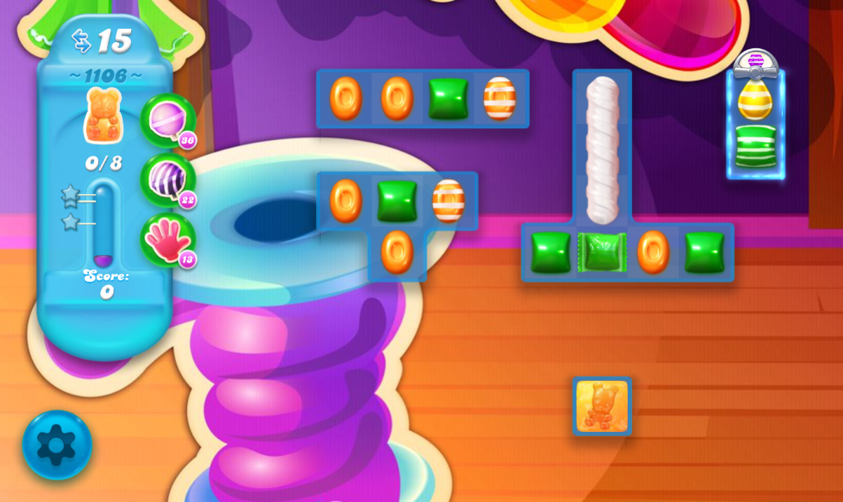 Candy Crush Soda Saga 1106