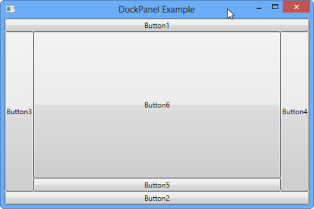 DockPanel in WPF ~ IT Tutorials with Example