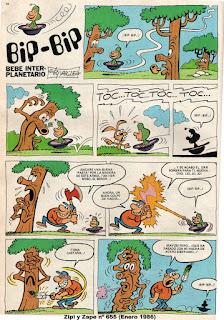Zipi y Zape nº 655 (Enero de 1986)