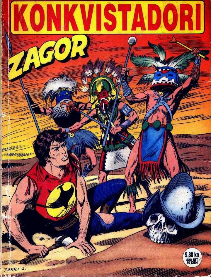 Konkvistadori - Zagor strip
