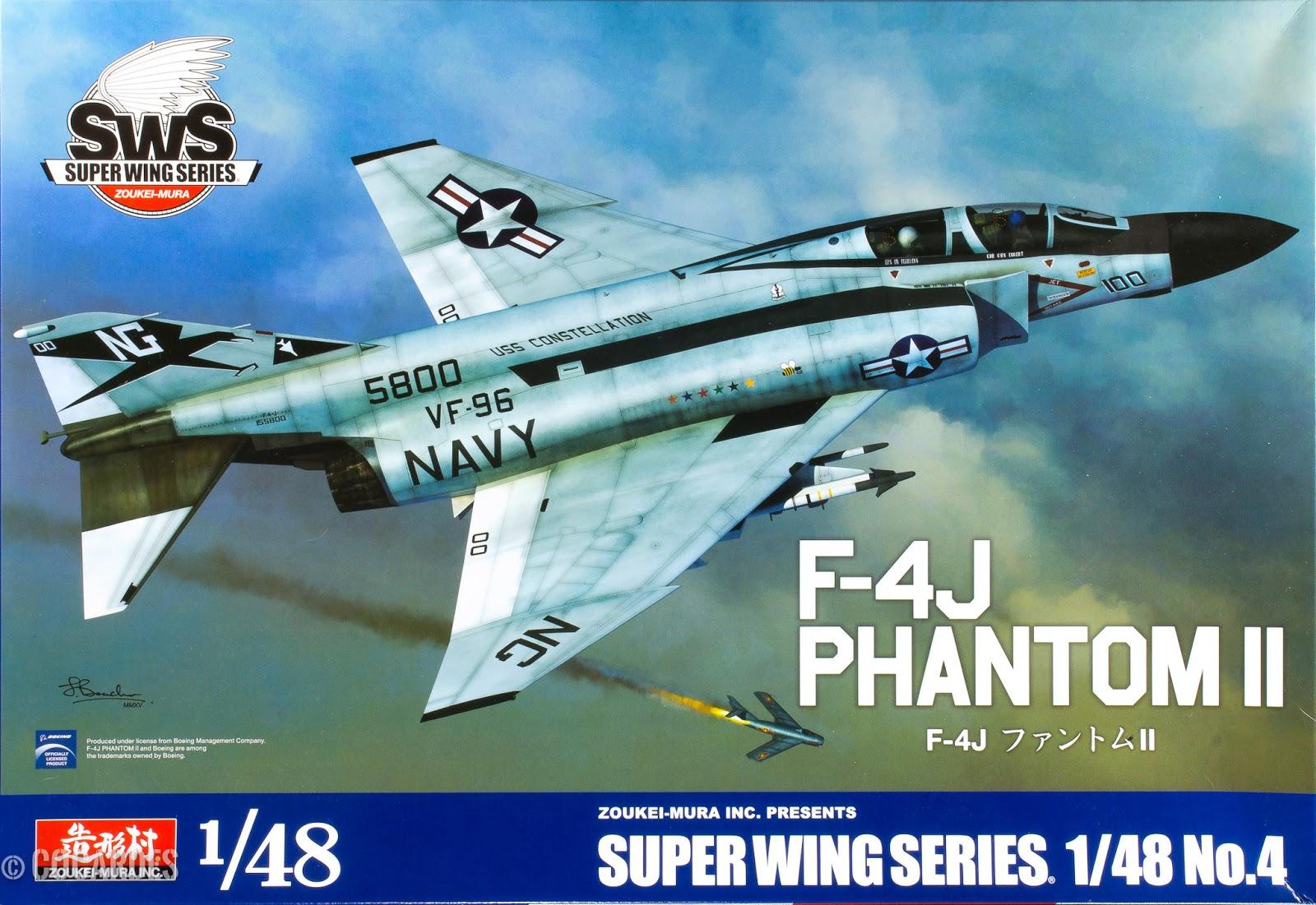 F-4J Phantom II Zoukei Mura 1/48