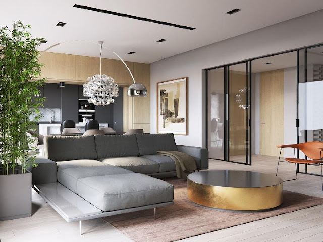 New Interior Design: Well-ordered and Mosaic-accented New Interior Design: Well-ordered and Mosaic-accented 19221640 a sleek modern home for a stylish t76657490