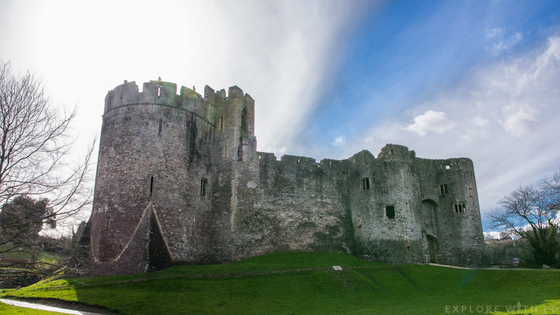 Chepstow Castle review, Tour of Chepstow Castle, Cadw Castle