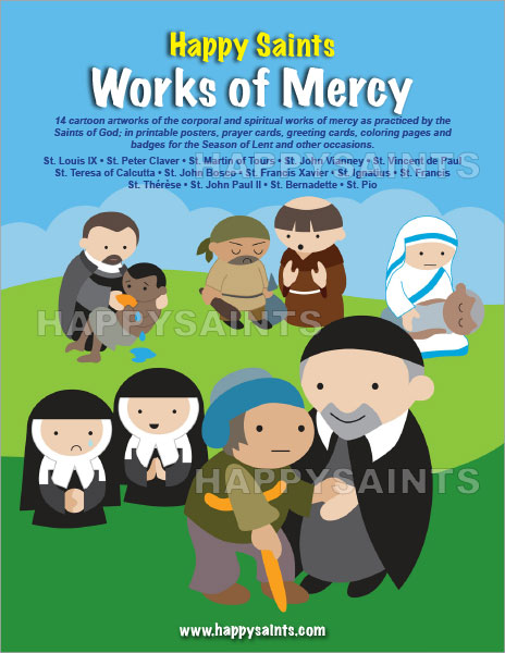 Happy Saints: Happy Saints Works of Mercy