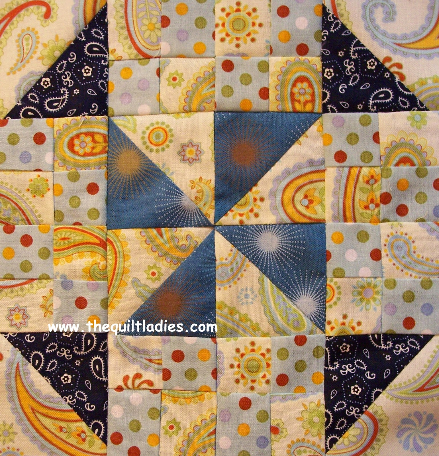 Quilt Pattern of the Month from The Quilt Ladies