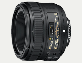 Nikkor 50mm f/1,8 - Lens - Nikon