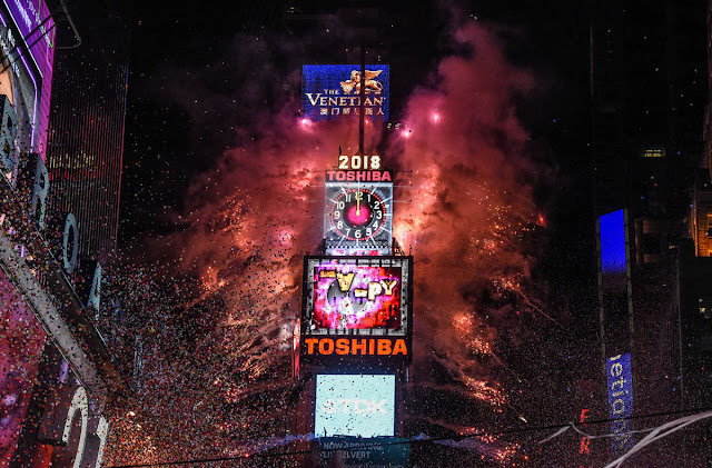 Full HD Pictures of New Year Celebration 2018 around the World