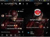 Download BBM MOD The Flash APK v2.13.1.14 Terbaru