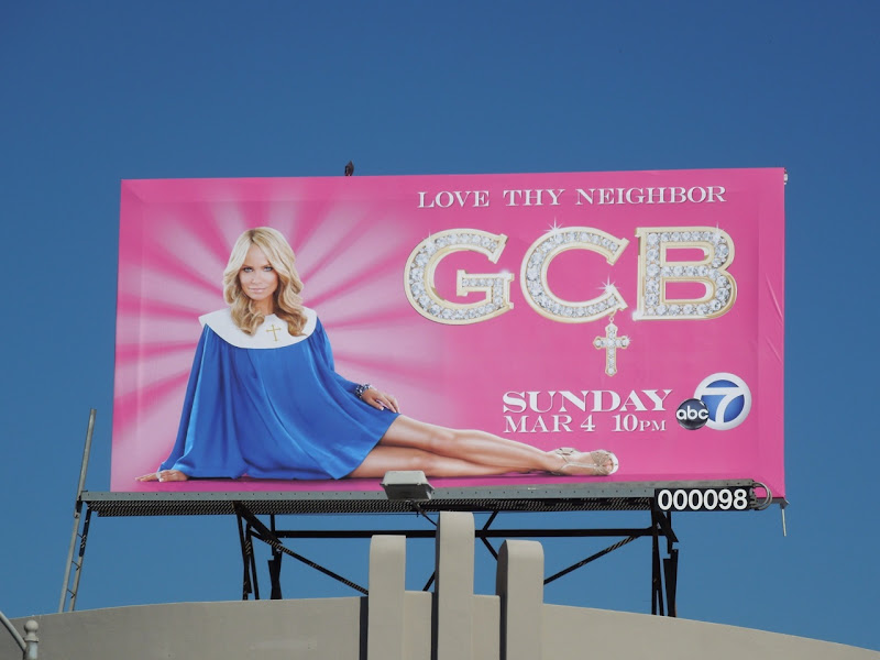 GCB TV billboard