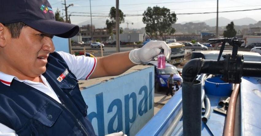 DISTRIBUCIÓN GRATUITA: Piden denunciar a quienes cobren por agua que es distribuida en cisternas de Sedapal - www.sedapal.com.pe