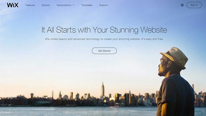 Wix - Affiliate Programs For WordPress Templates