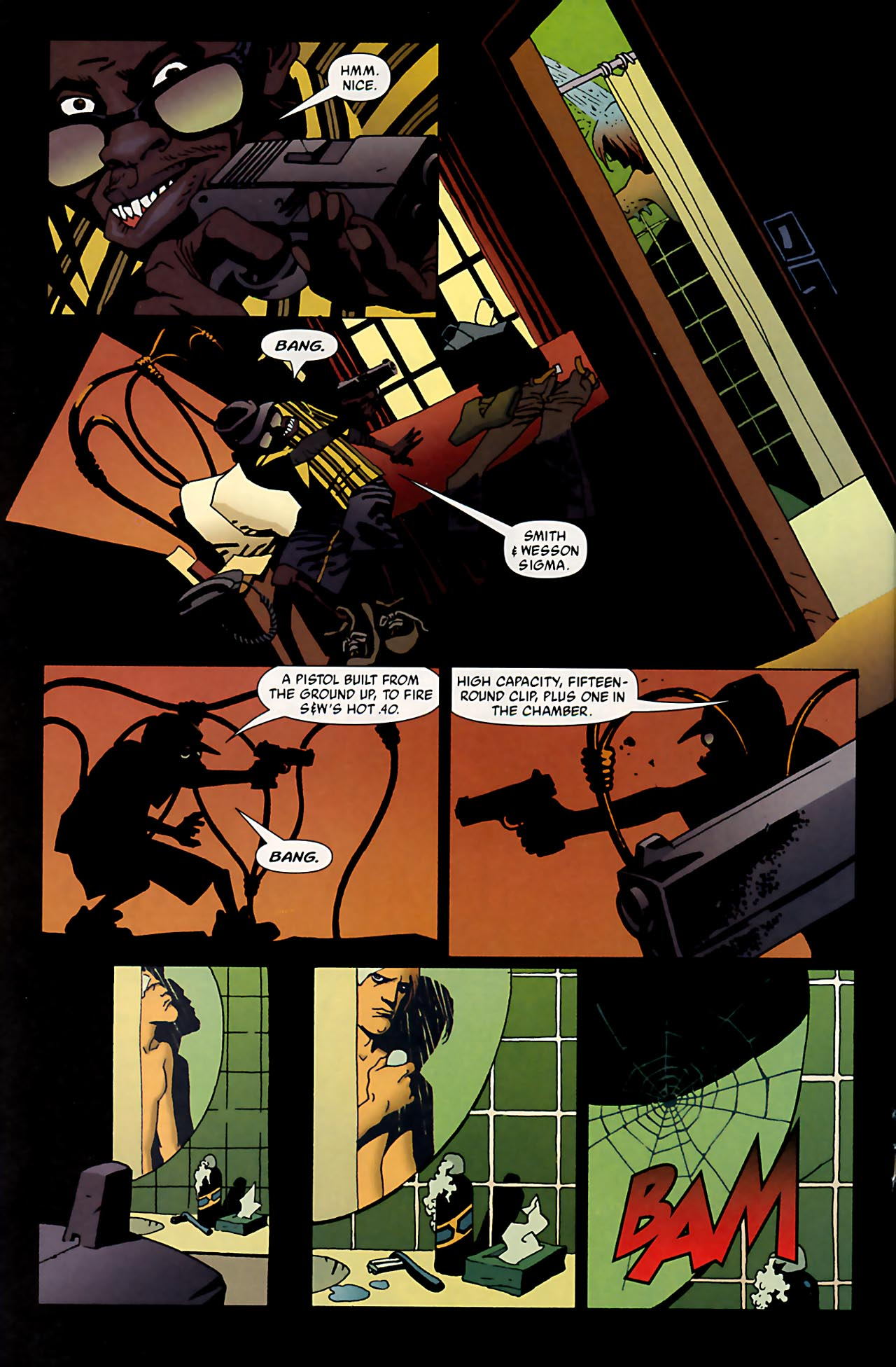 Read online 100 Bullets comic -  Issue #53 - 13