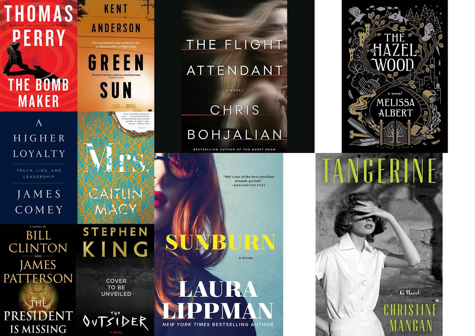 Best Thrillers books 2018, Good thriller Crime mystery book 2018