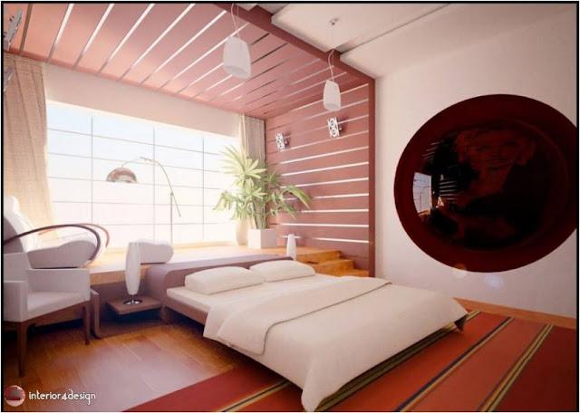 Gypsum Bedroom Designs 16