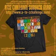 A to Z 2016 Gear! Get Yours Today!