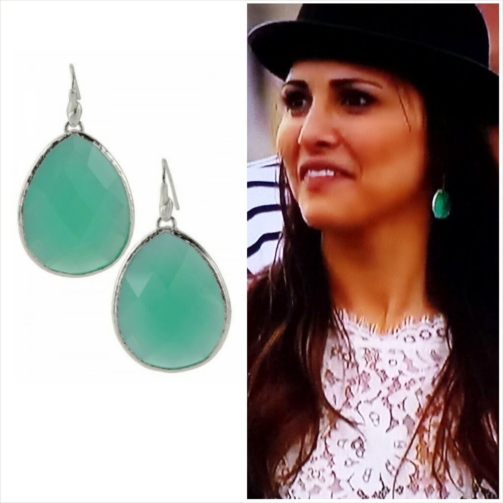 Next, I Spotted A Pair Of Earrings That Looked Like Our Aqua And Silver  Serenity Stone Drop Earrings They Aren't Stella & Dot, But You Can  Certainly Get A