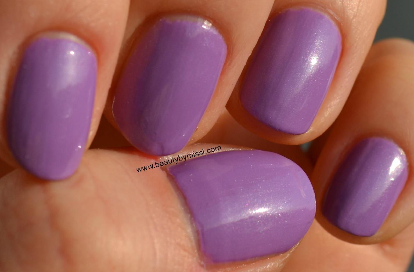 purple nails, notd, lillad küüned