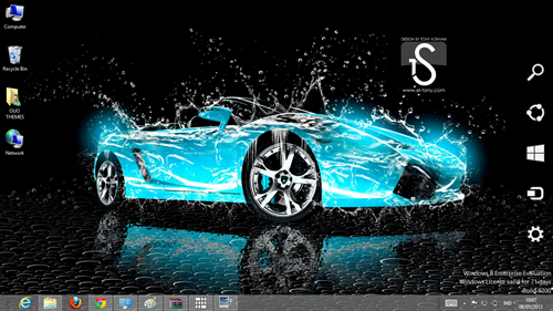 water car effect theme for windows 7 and 8 4
