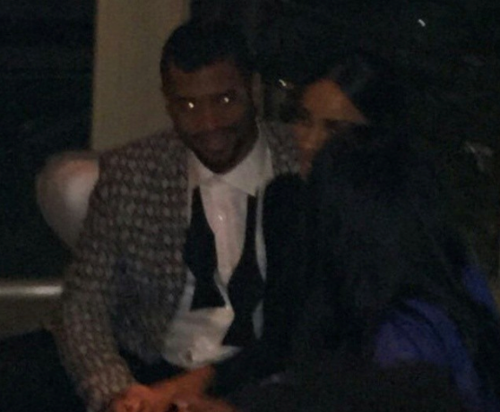 Ciara and boyfriend Russell Wilson go on a romantic date night at the White House