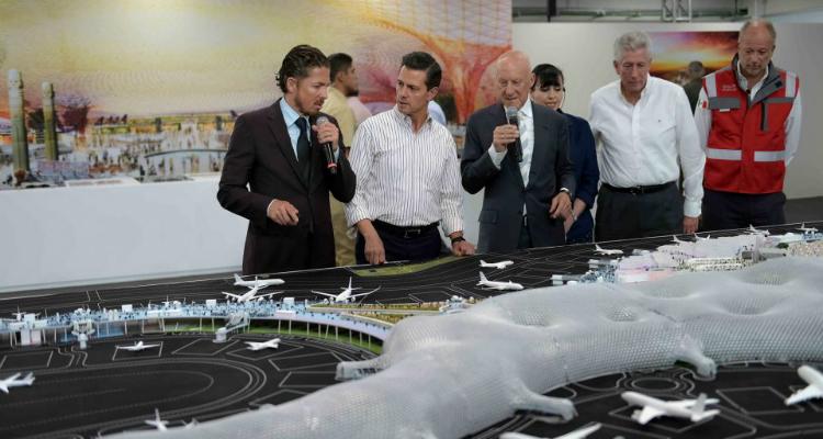 Mil mdp 'desaparecieron' en la construcción del nuevo aeropuerto de la CDMX