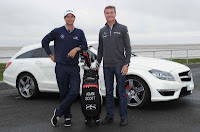 David Coulthard & Adam Scott