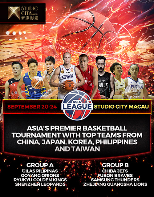 Asia League Inaugural Tournament debuts in September