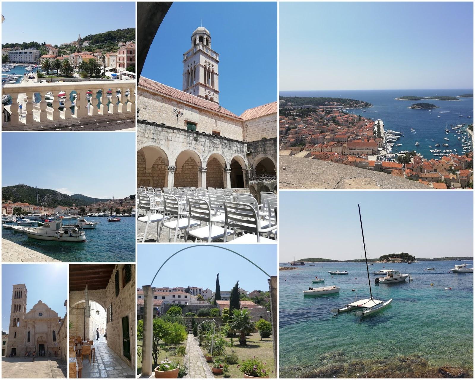Pourlopowo: Chorwacja  - Hvar (miasto) na Wyspie Hvar. Fotorelacja.