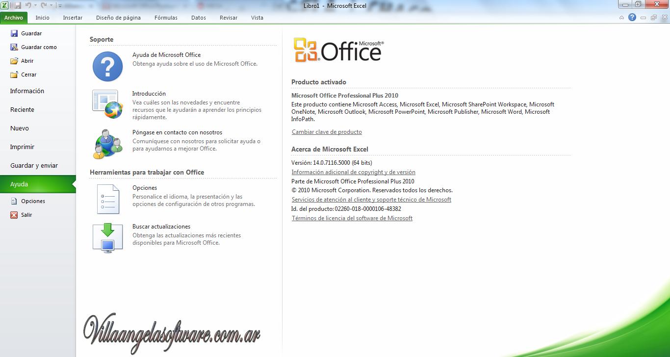 Villa Angela Software: Microsoft Office