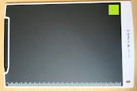 Rückseite: DIGISON DS-9500 LCD 12 Zoll Writing Tablet / Grafiktablet / Schreibtafel (Schwarz, inkl. Stift)