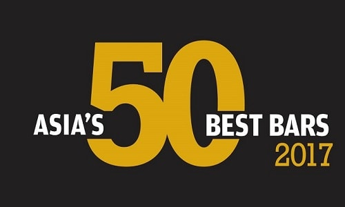 Asia's 50 Best Bars 2017 Award