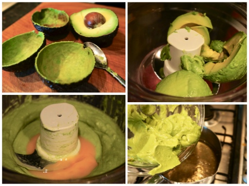 Fanny Cradock Avocado Ice Cream