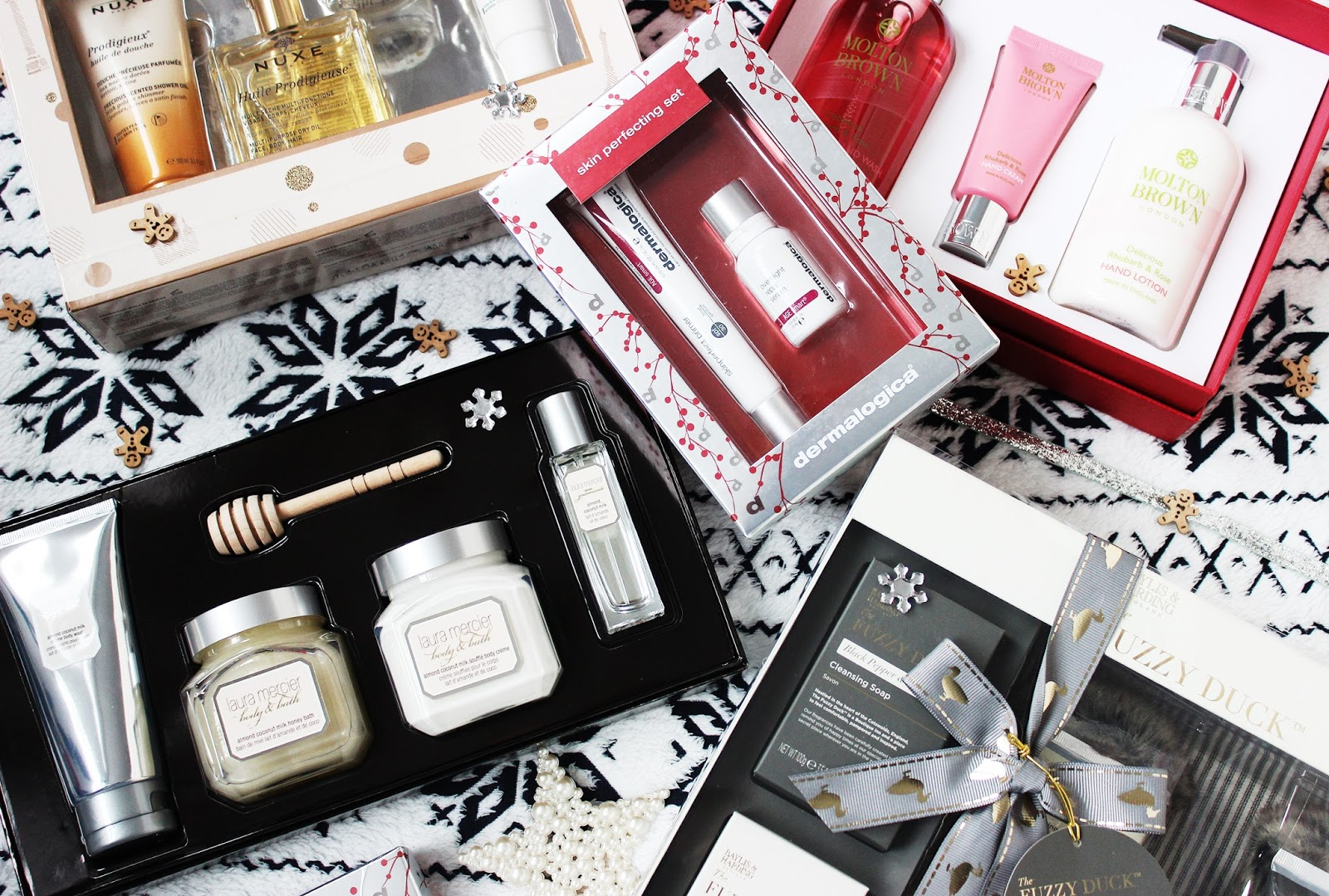 Beauty Christmas gift guide for pampering products and skincare