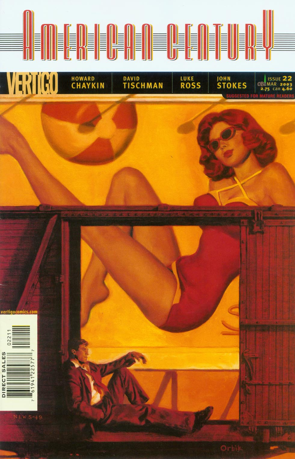 Read online American Century comic -  Issue #22 - 1