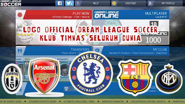 kumpulan logo official dream league soccer klub timnas seluruh dunia