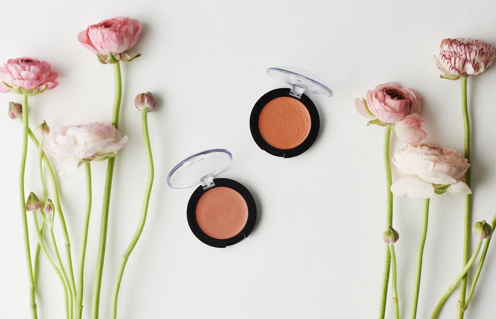 The All Natural Face Vegan Matte Cream Blush Review nontoxic organic makeup hellolindasau