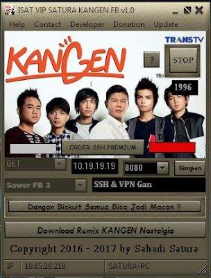 Download Inject ISAT VIP SATURA KANGEN FB v1.0