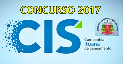 Concurso CIS Itu-SP 2017