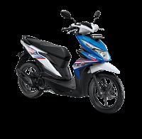 Honda BeAT Sporty eSP CBS Techno Blue White