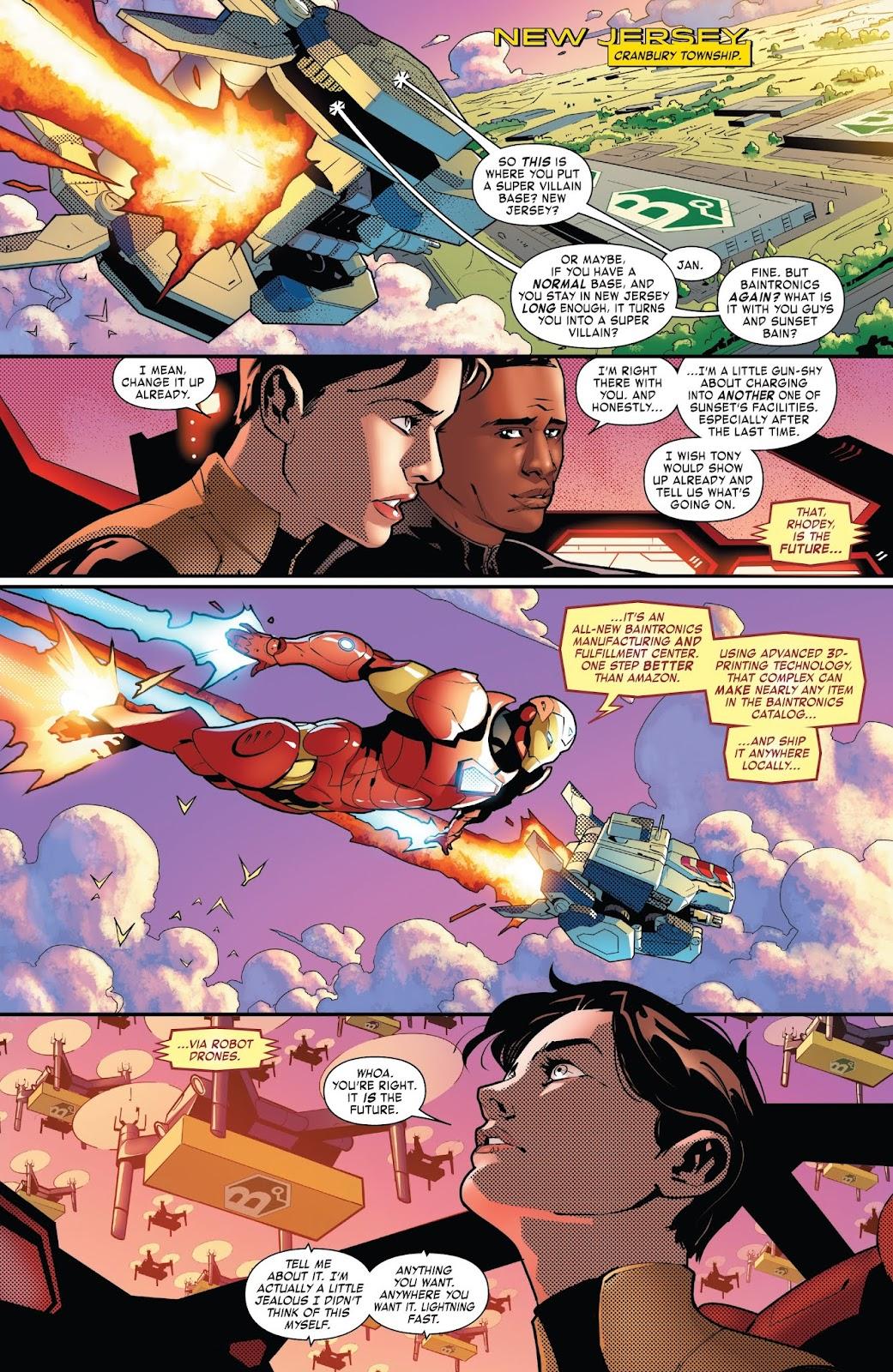 Read online Tony Stark: Iron Man comic -  Issue #7 - 19