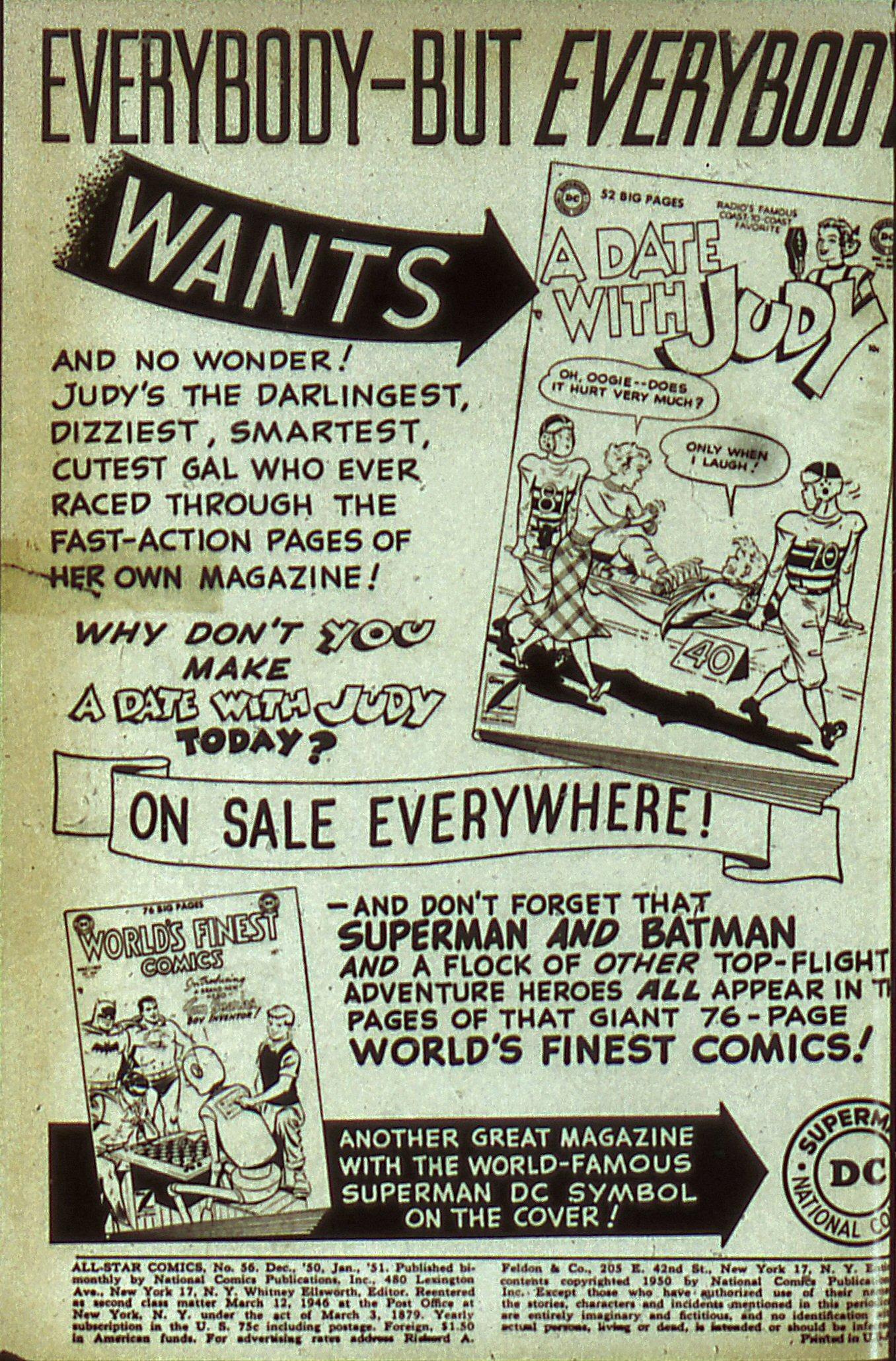 Read online All-Star Comics comic -  Issue #56 - 2