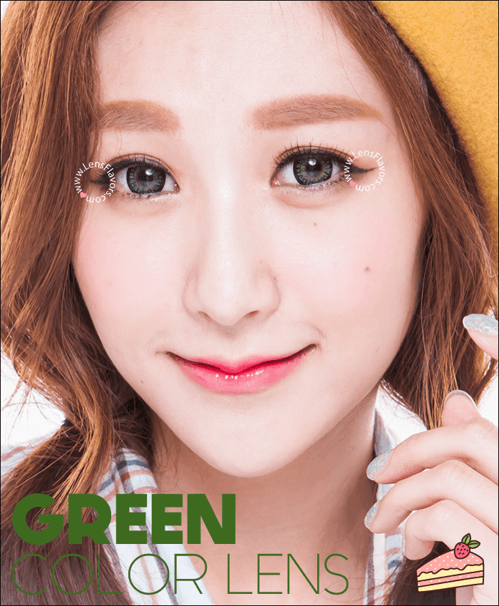 geo princess mimi green colored contacts