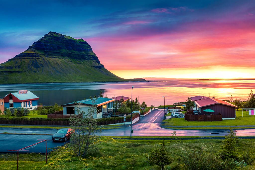 Islandia la isla del fuego y hielo - Casas en islandia ...